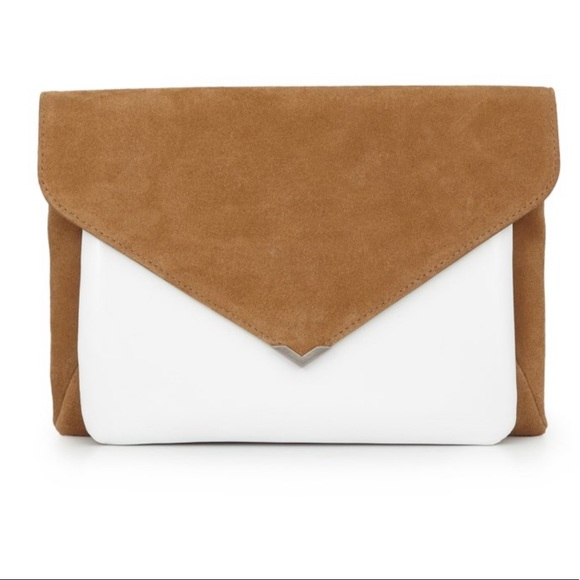 Sam Edelman Handbags - Sam Edelman mila 2 in 1 clutch whiskey